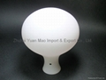 Handblown opal glass shade for pendant lamp or floor lamp. 3