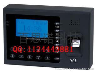 濟南中控指紋考勤機h1 1