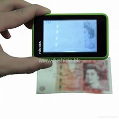 fushida mini ir detector,currency