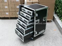flight case with drawer