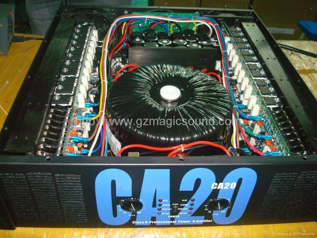 Professional Audio Power Amplifier CA20