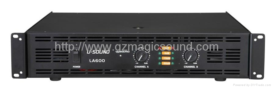Electric Power Amplifier : China professional power amplifier la u sound