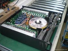 Pro audio power amplifier