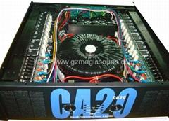 pro audio power amplifie