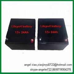 lifepo4 battery 12v 20ah deep cycle lithium battery pack electric golf battery