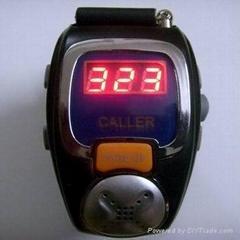 运动手表式振动呼叫服务器主机