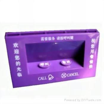 C-2C  2键亚克力餐牌呼叫器 1