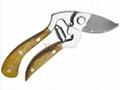 Drop forged garden secateurs 1