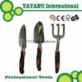 Aluminum garden tools set