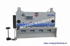 hydraulic metal shearing machine