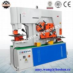 hydraulic ironworker model, joist metal cutting machine HIW(Q35Y)