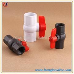Plastic Octagonal PVC Pipe Ball Valve
