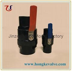 Strainless Steel Handle PVC Ball Valve (Hot Product - 1*)