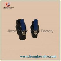 Strainless Steel Handle PVC Ball Valve