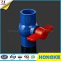 東南亞PVC藍色球閥