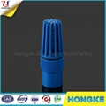 Colorful PVC Water Hydraulic Foot Valve