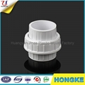 Light White PVC Pipe Union