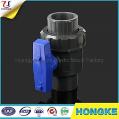 Grey PVC Single Union Ball Valve