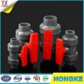 PVC Plastic True Union Valve Eco-Friendly