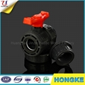 ANSI Standard PVC Double Union Ball Valve