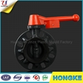 Metal Handle PVC Butterfly Valve