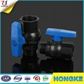 Male & Female PVC Octagonal Ball Valve