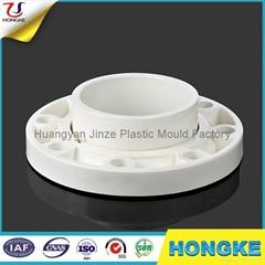 Plastic PVC 2 Piece Pipe Flange