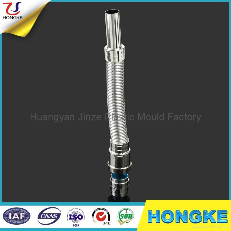 India chrome plated abs flexible drainage pipe jz