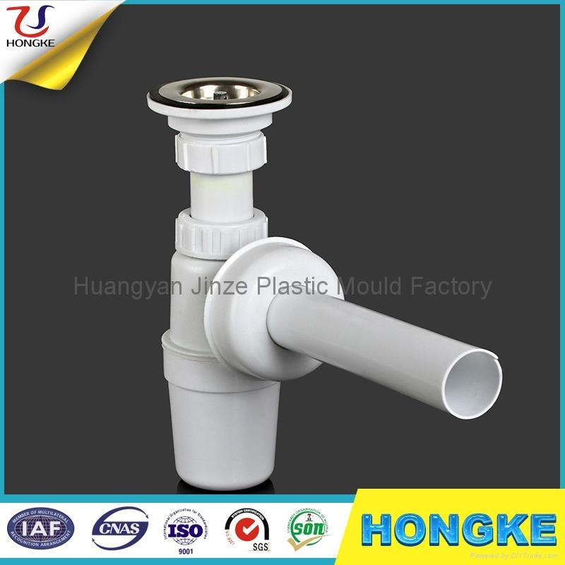 Plastic Kitchen Sink Drain Pipe Connection Jz11 031