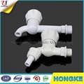 PVC Full Turn Open Round Handle Water Tap