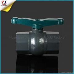 塑料PVC八角球閥