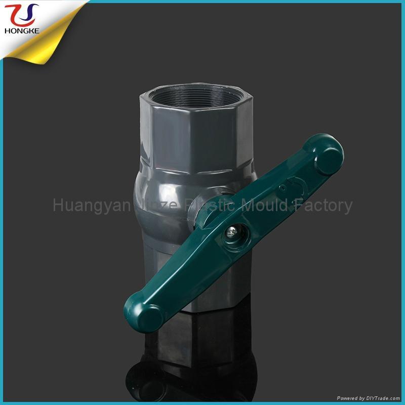 塑料PVC八角球阀 2