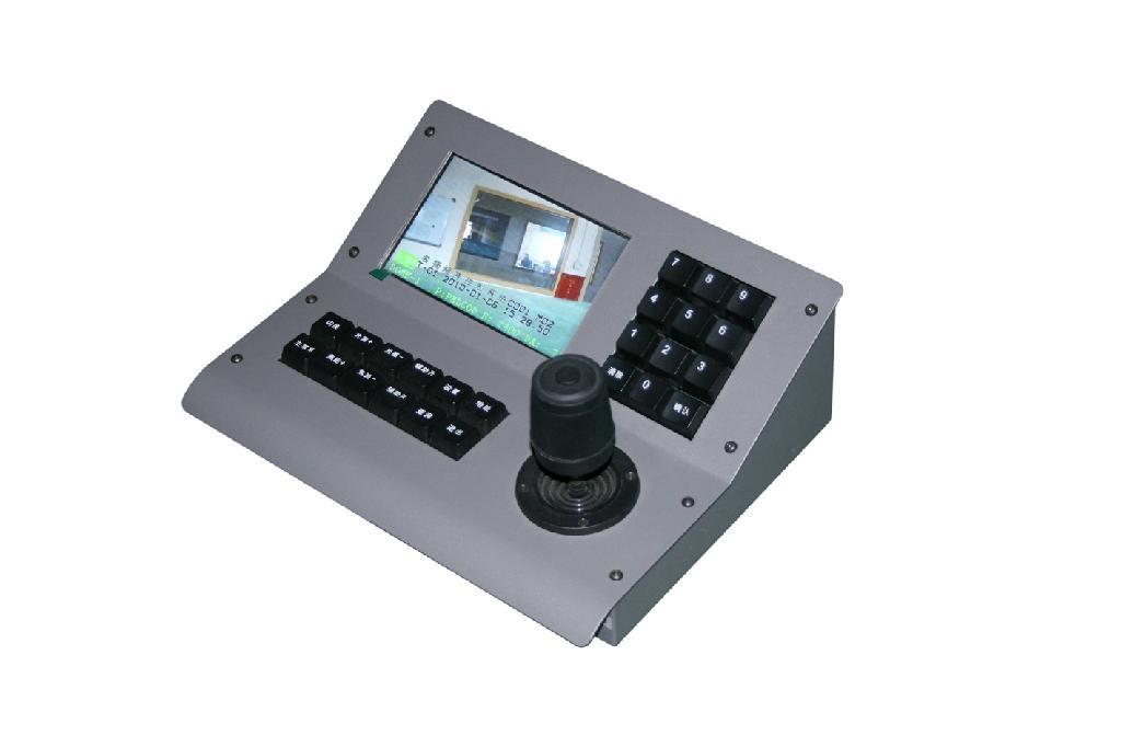 4Axis 3ch color screen PTZ joystick controller - MYTECH (China