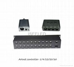 Madrix Compatible DMX LED Artnet Controller