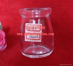 玻璃布丁瓶 布甸樽