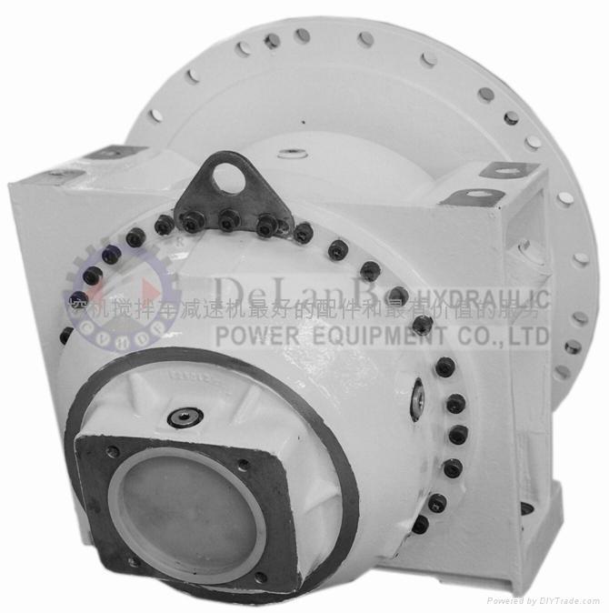 混凝土攪拌車液壓閉式變量液壓泵 液壓馬達 3