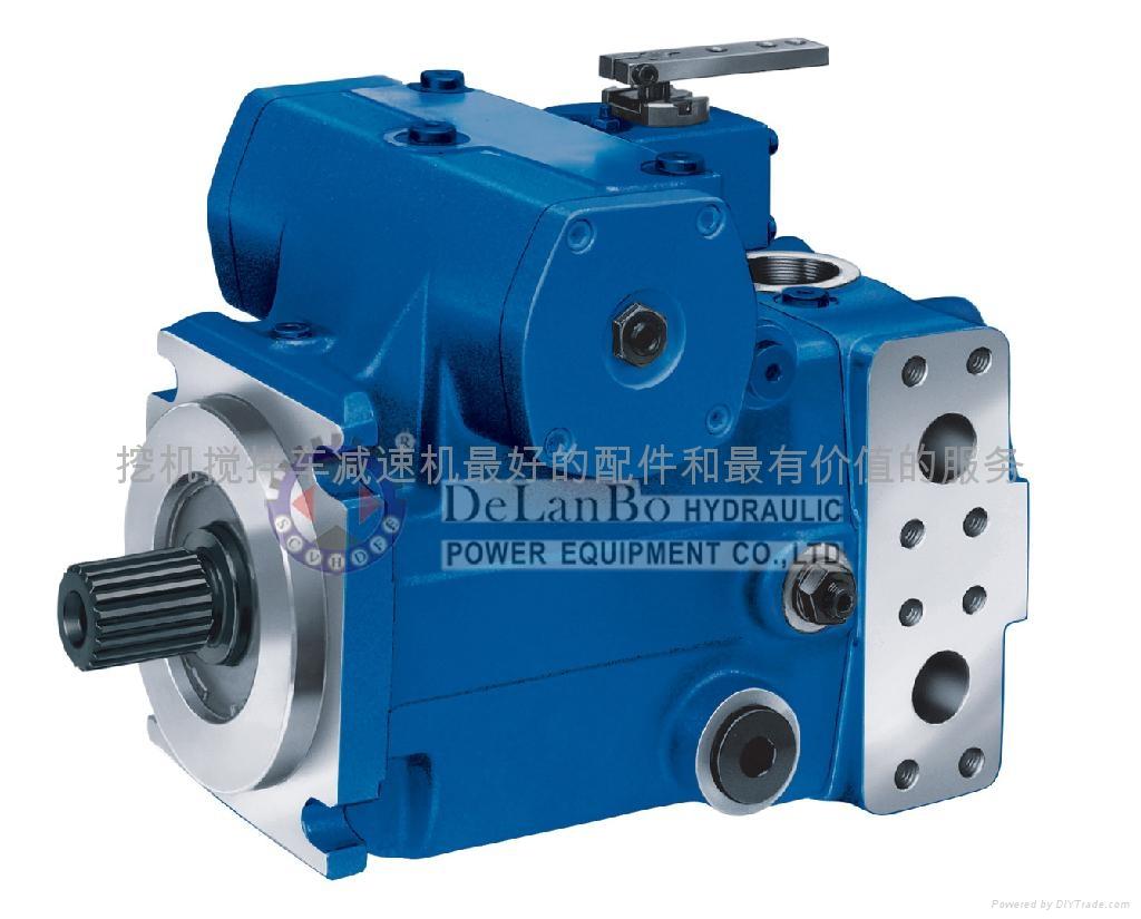 混凝土攪拌車液壓閉式變量液壓泵 液壓馬達 5