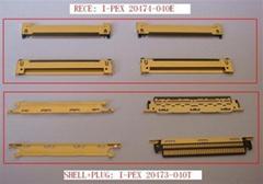 I-pex连接器 micro coax cable