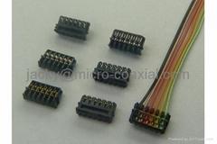 0.6壓接線,IDC刺破線加工,0.6藍牙線束,JST-XSR刺破線加工