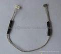0.6压接线,IDC刺破线加工,0.6蓝牙线束,JST-XSR刺破线加工  3