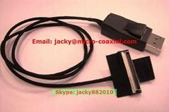 LVDS屏线 eDP屏线 I-PEX屏线 intel高清屏线 IPEX极细同轴线 ACES 88441-040