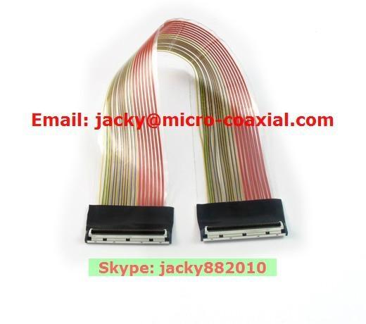 LVDS屏線 eDP屏線 I-PEX屏線 intel高清屏線 IPEX極細同軸線 ACES 88441-040 3