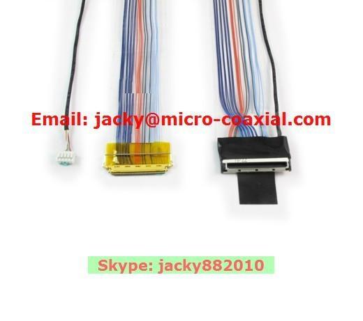 DS屏线 eDP屏线 I-PEX屏线 intel高清屏线 IPEX极细同轴线 ACES 88441-040 4
