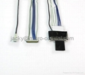 I-PEX20453-030t edp cable assembly,custom edp cable,I-PEX 20455-030E connector