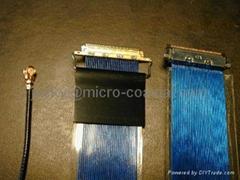 供I-PEX-20453屏線,FFC LVDS液晶屏線 I-PEX,液晶屏線,顯示屏線,LVDS屏線,eDP