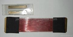 I-PEX 20453-040T屏线 I-PEX 20455-040E-12母座