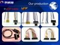 专注屏线15年,科威旭电子屏线专家,生产LVDS屏线,eDP屏线,I-PEX屏线,LCD屏线