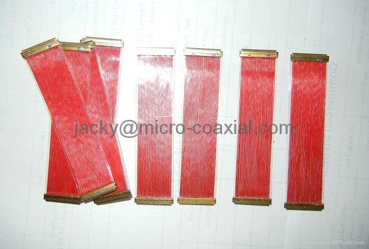 MCX极细同轴线 MCC同轴线 I-PEX极细同轴屏线 LVDS屏线 1