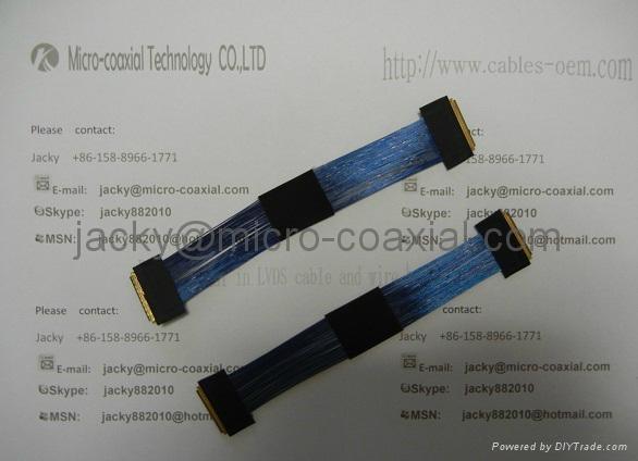 MCX極細同軸線 MCC同軸線 I-PEX極細同軸屏線 LVDS屏線 2
