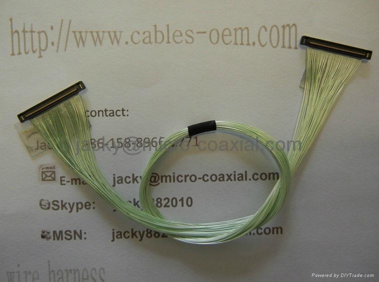 MCX极细同轴线 MCC同轴线 I-PEX极细同轴屏线 LVDS屏线 5